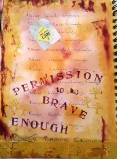 permission to be brave enough